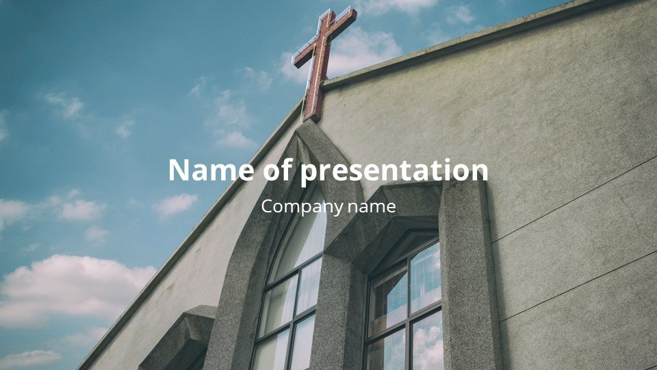 Believer - Free Church Worship Song Powerpoint Background.