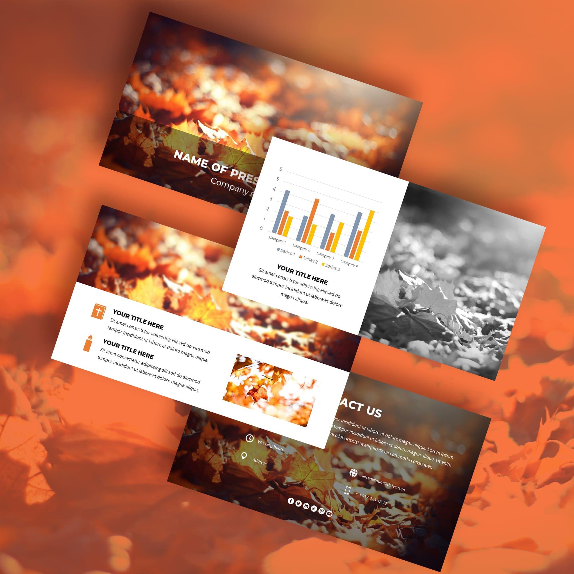 fall autumn worship powerpoint background