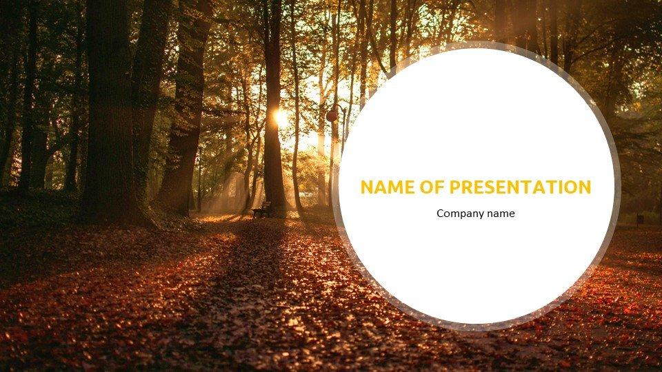 This is such a beautiful template.Autumn - Free Fall Powerpoint Background Worship.