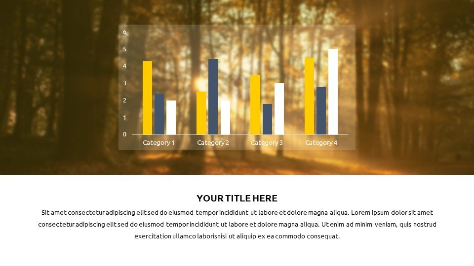 You can place the material both in a text box and in an infographic.Autumn - Free Fall Powerpoint Background Worship.