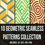 Geometric Seamless Patterns Collection_Main