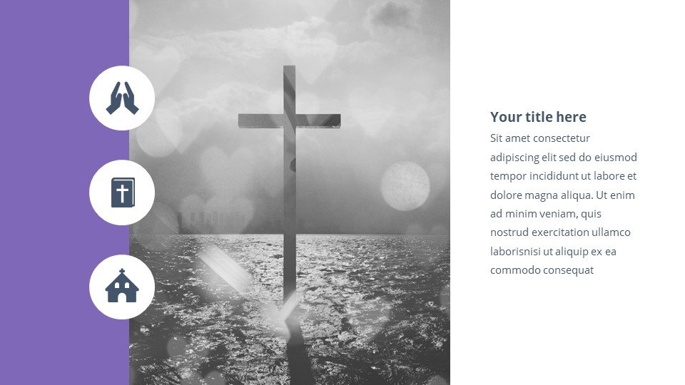 Second slide. Enlightenment - Free Heart of Worship Powerpoint Background.