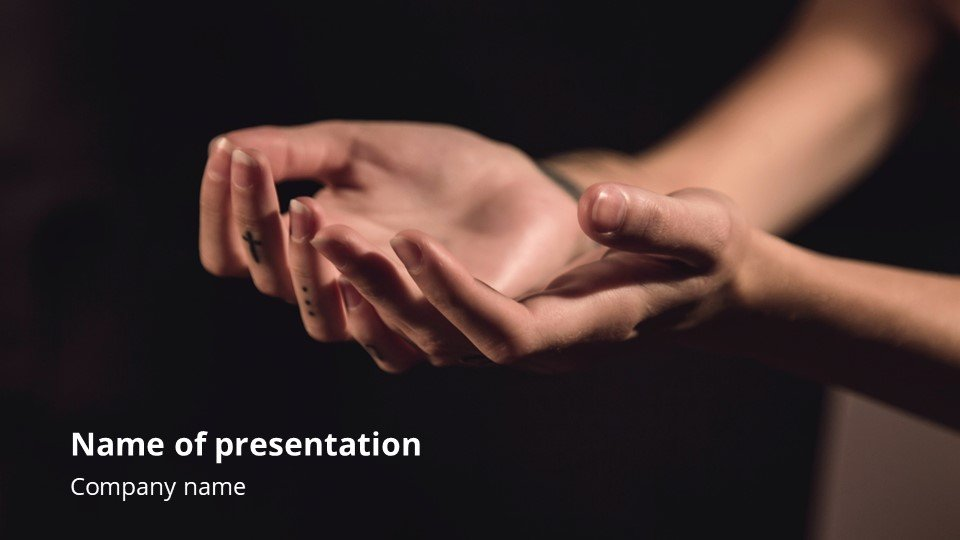 This is such a beautiful template. Confidence - Free Live Powerpoint Slides Background Worship.