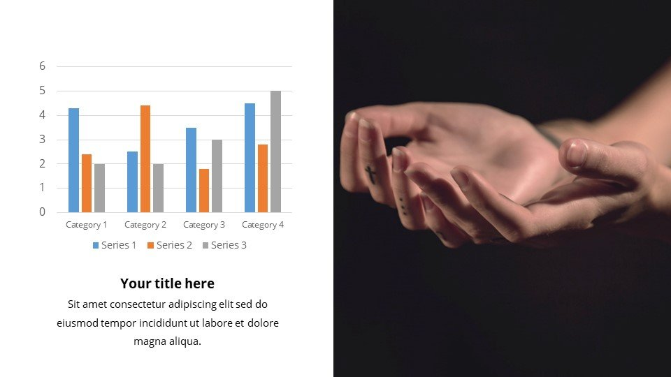 You can place the material both in a text box and in an infographic.Confidence - Free Live Powerpoint Slides Background Worship.