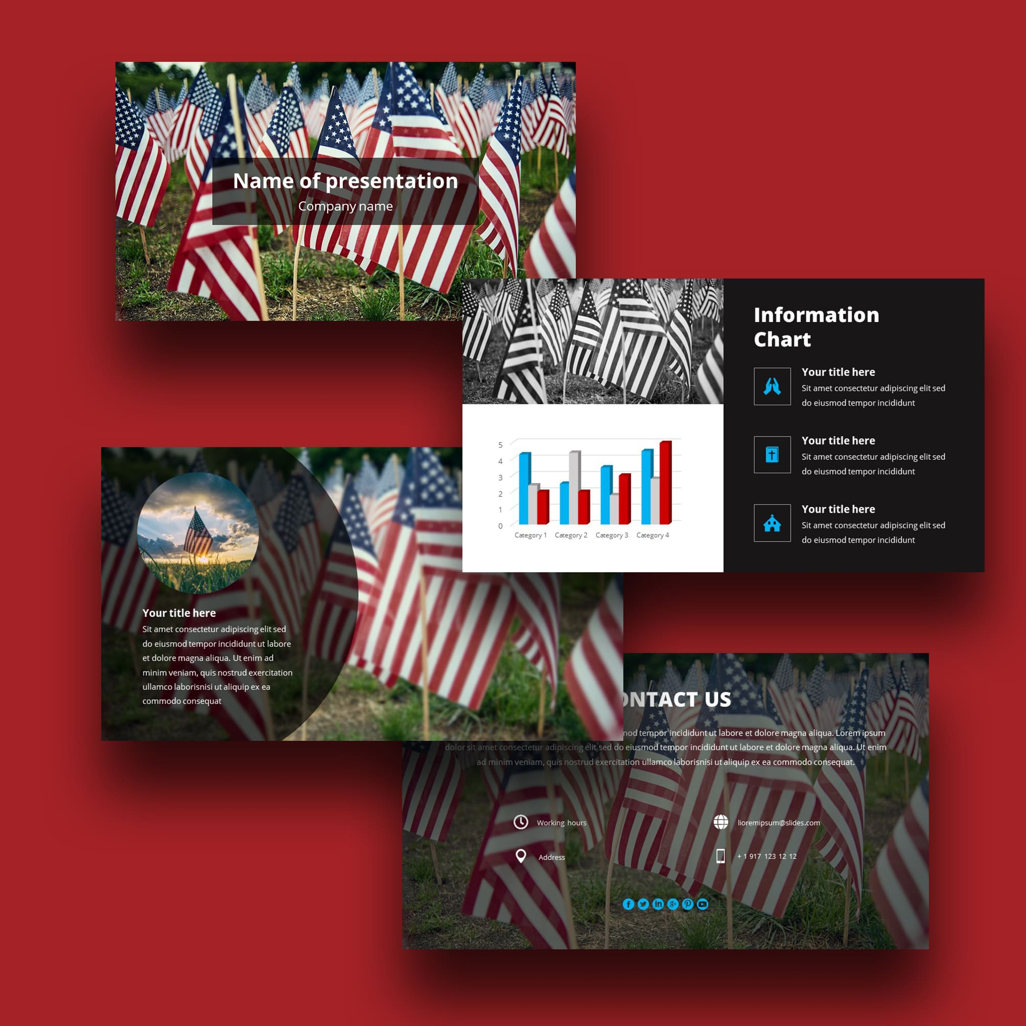 memorial day worship powerpoint background