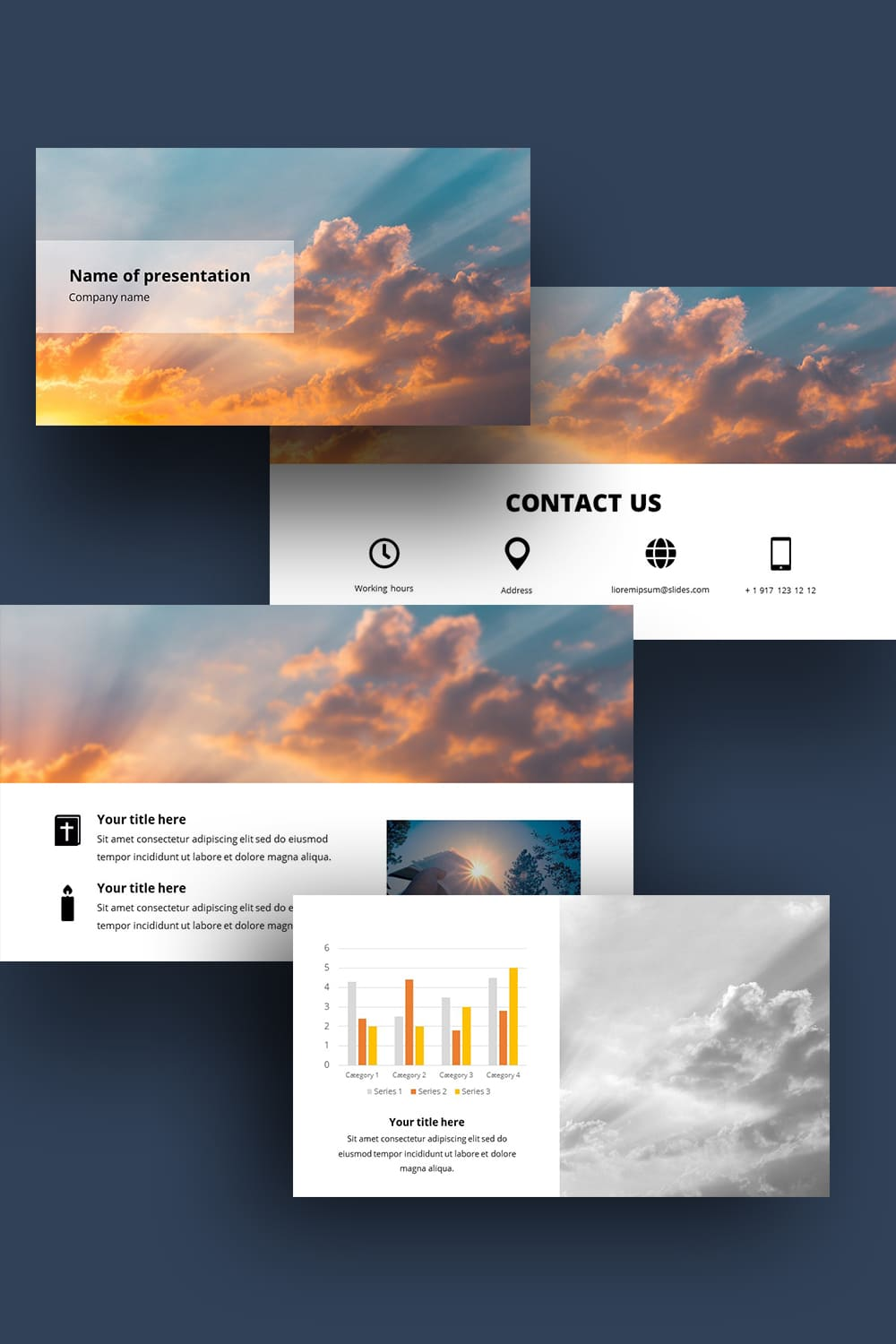 Pinterest.Free Sample Powerpoint Background For Worship.