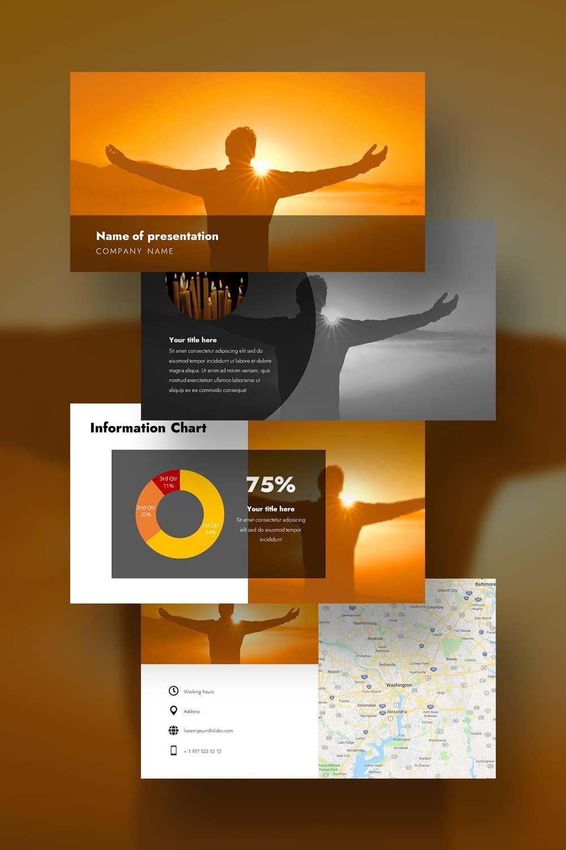 Pinterest. Shine - Free Worship Powerpoint Background Orange