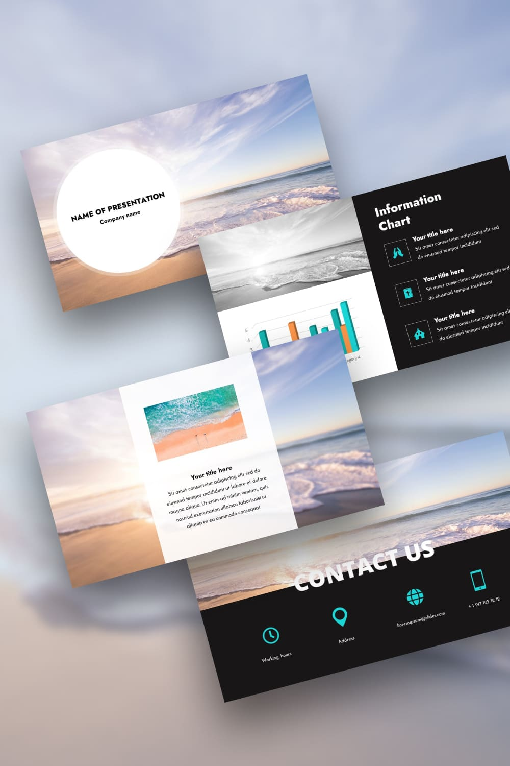 Where there is a lot of space, there is a lot of attention. There is a place for dreams and desires. With this template, your presentation will become an inspiration for others.