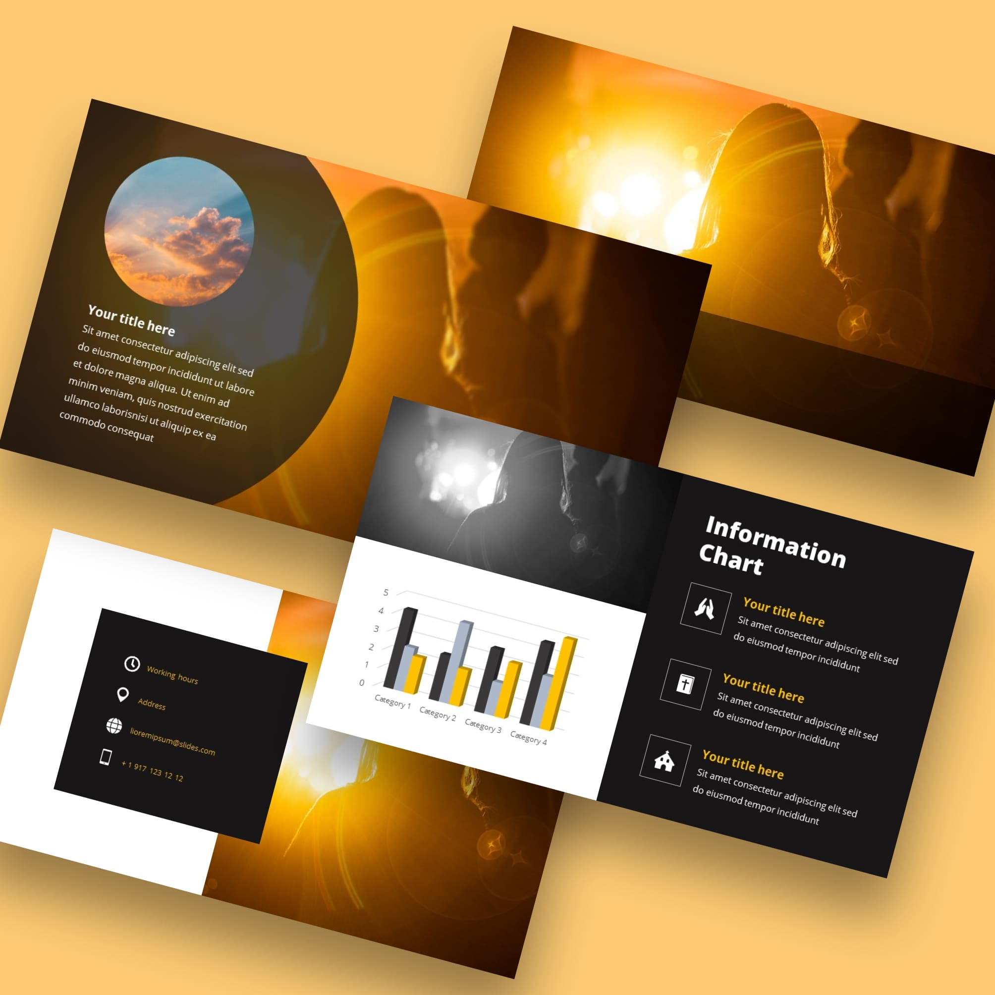powerpoint background worship light
