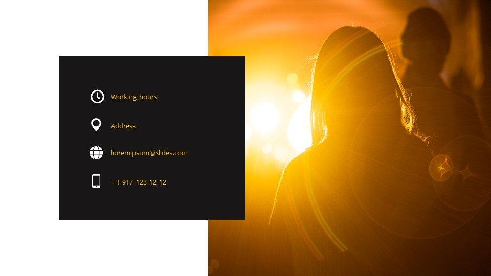 Lights -Free Powerpoint Background Worship Light.