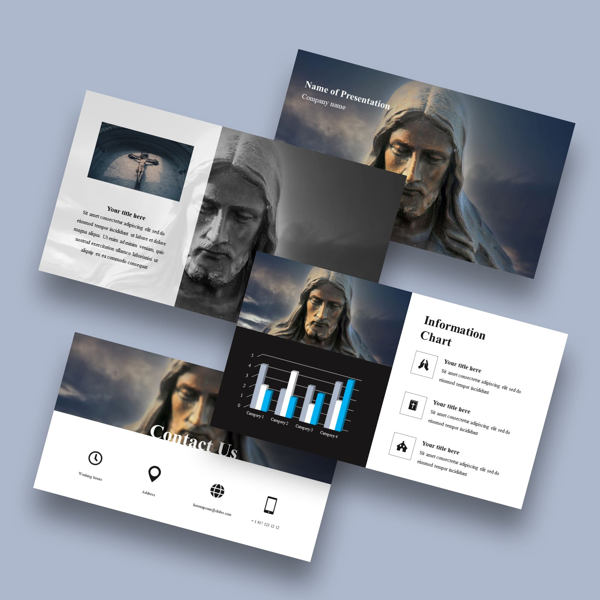religious worship background for powerpoint