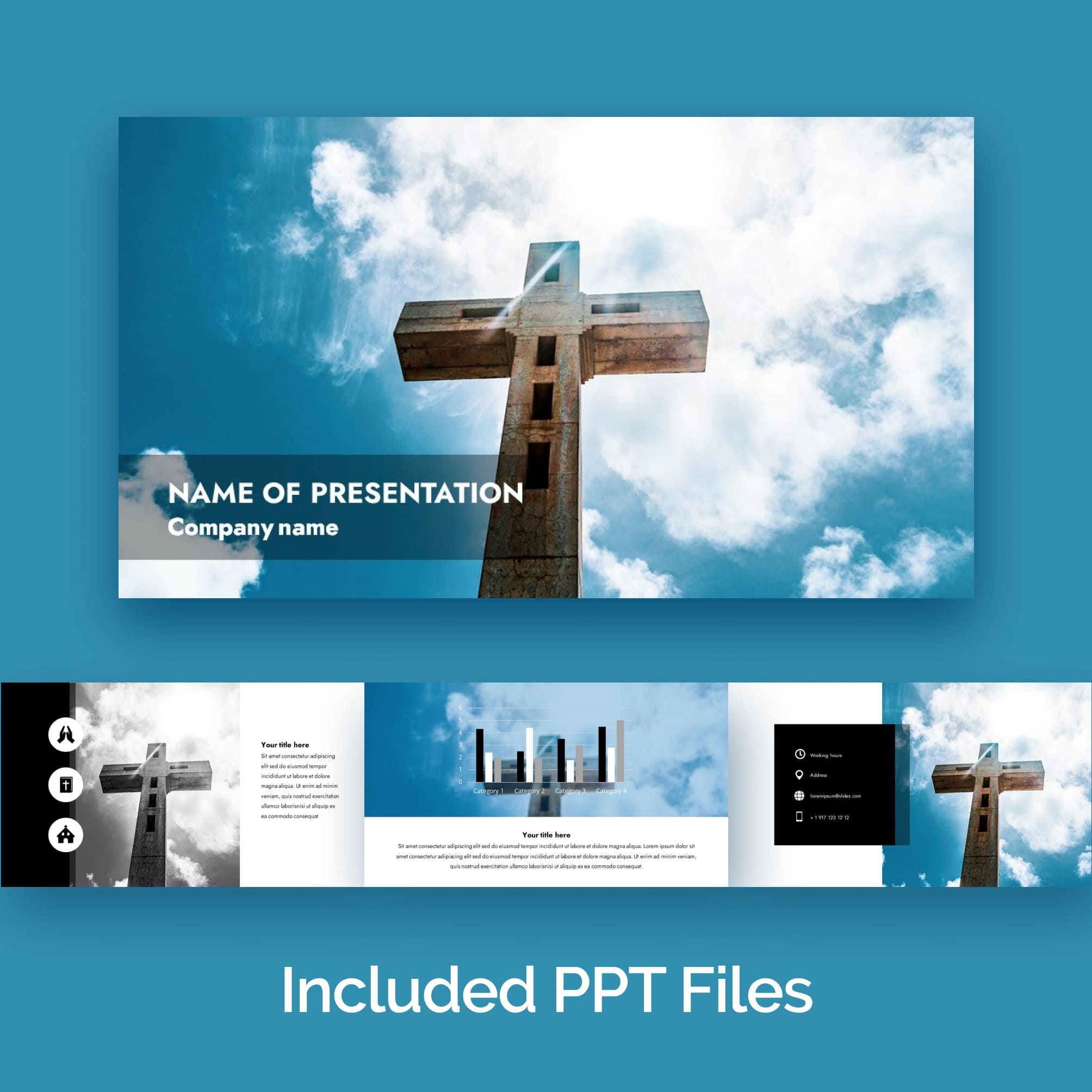 widescreen powerpoint background for worship - Main image