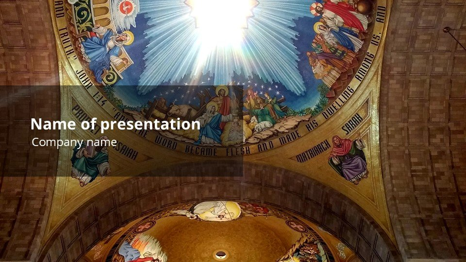 This is such a beautiful template.Soffit - Free Worship Pentecost Powerpoint Background.