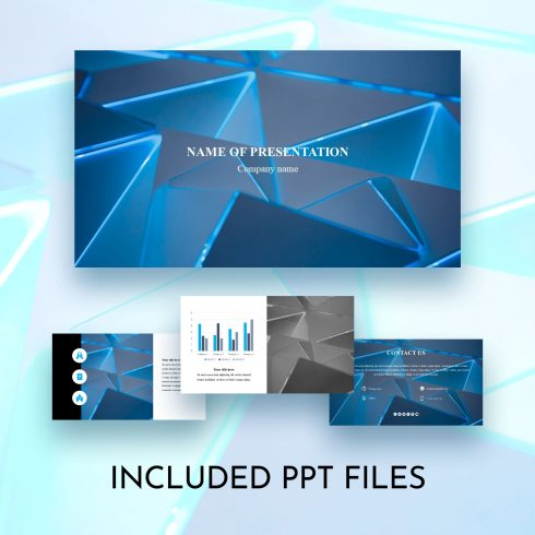 worship powerpoint background geometric blue_Main
