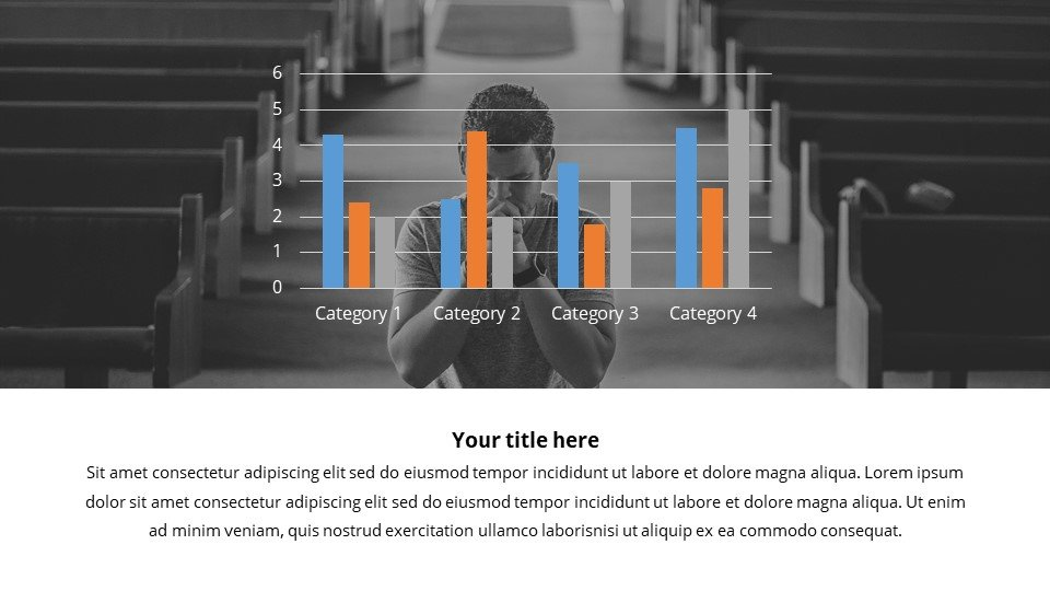 Infographics are combined with text blocks, which will help the audience to perceive information more easily.