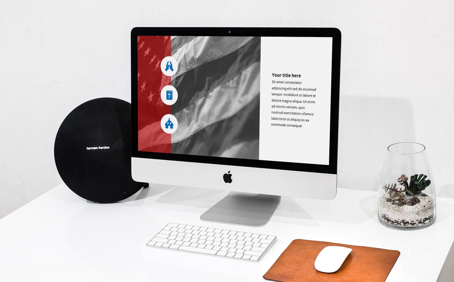 worship powerpoint background veterans-PC