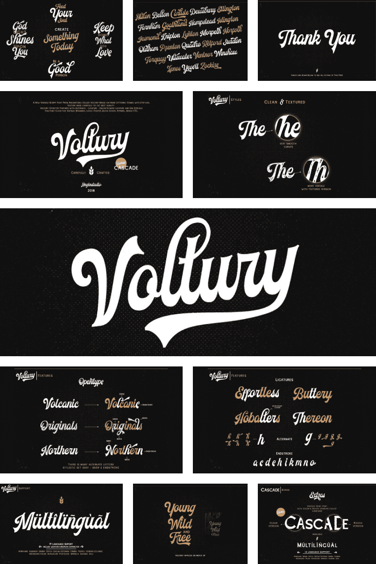 This font is simply meant for cabaret or Moulin Rouge signage. He is delectable and luxurious. It is difficult to stay in the shadows with him.