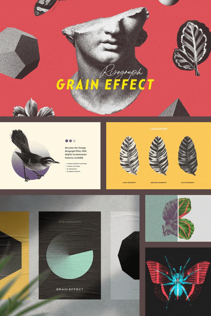 Risograph Grain Effect for Photoshop.