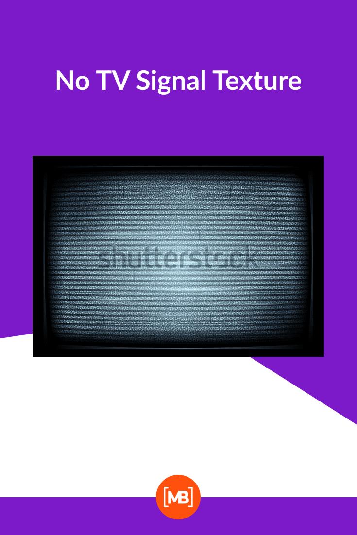 No TV Signal Texture.