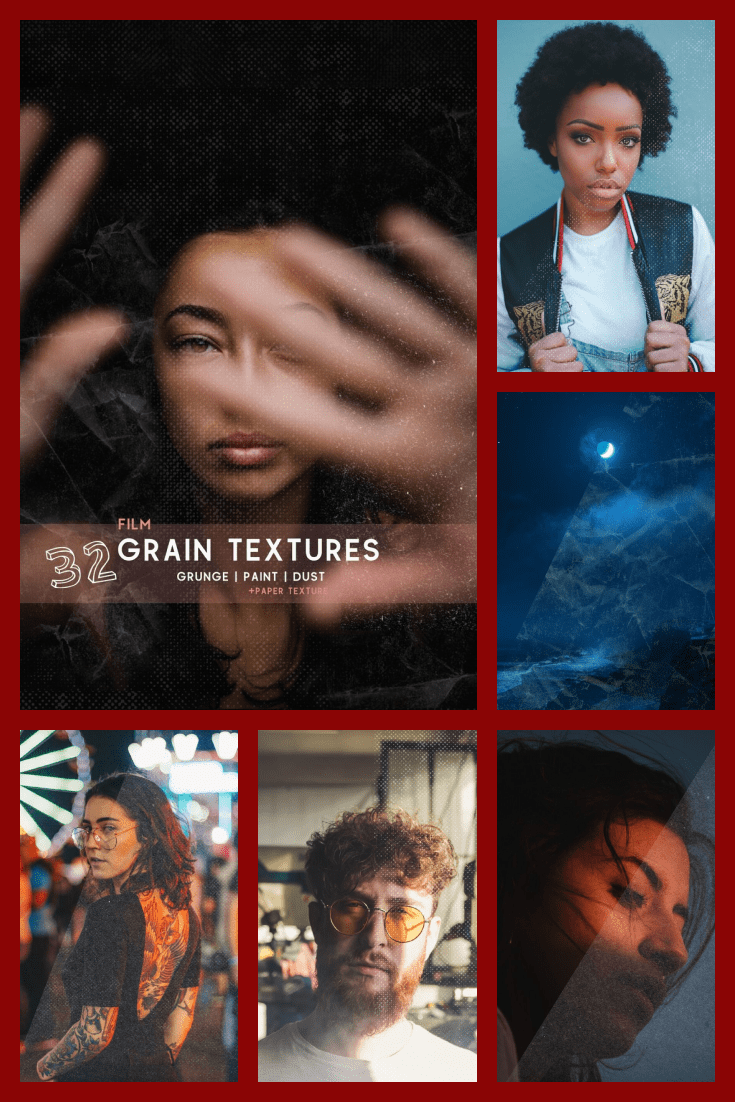 32 Awesome Film Grain Textures.