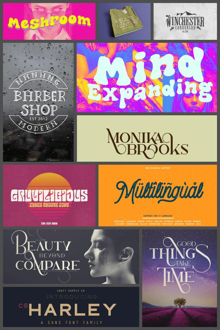 Best Vintage Fonts Pinterest.