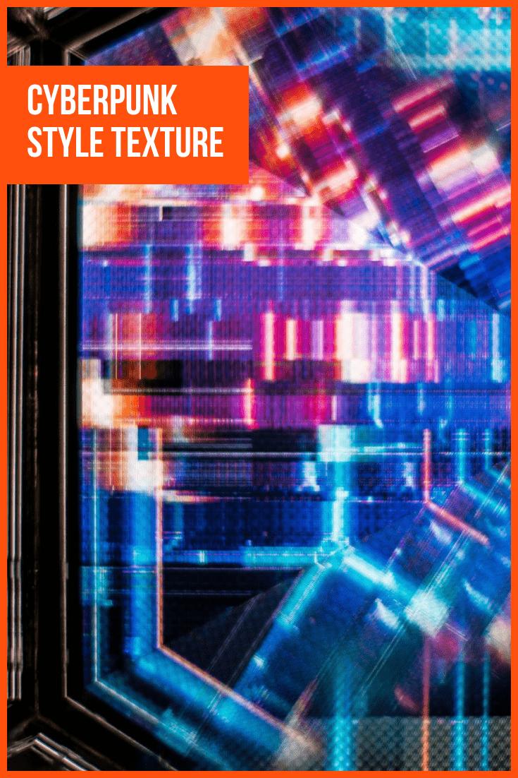 Cyberpunk Style Texture.