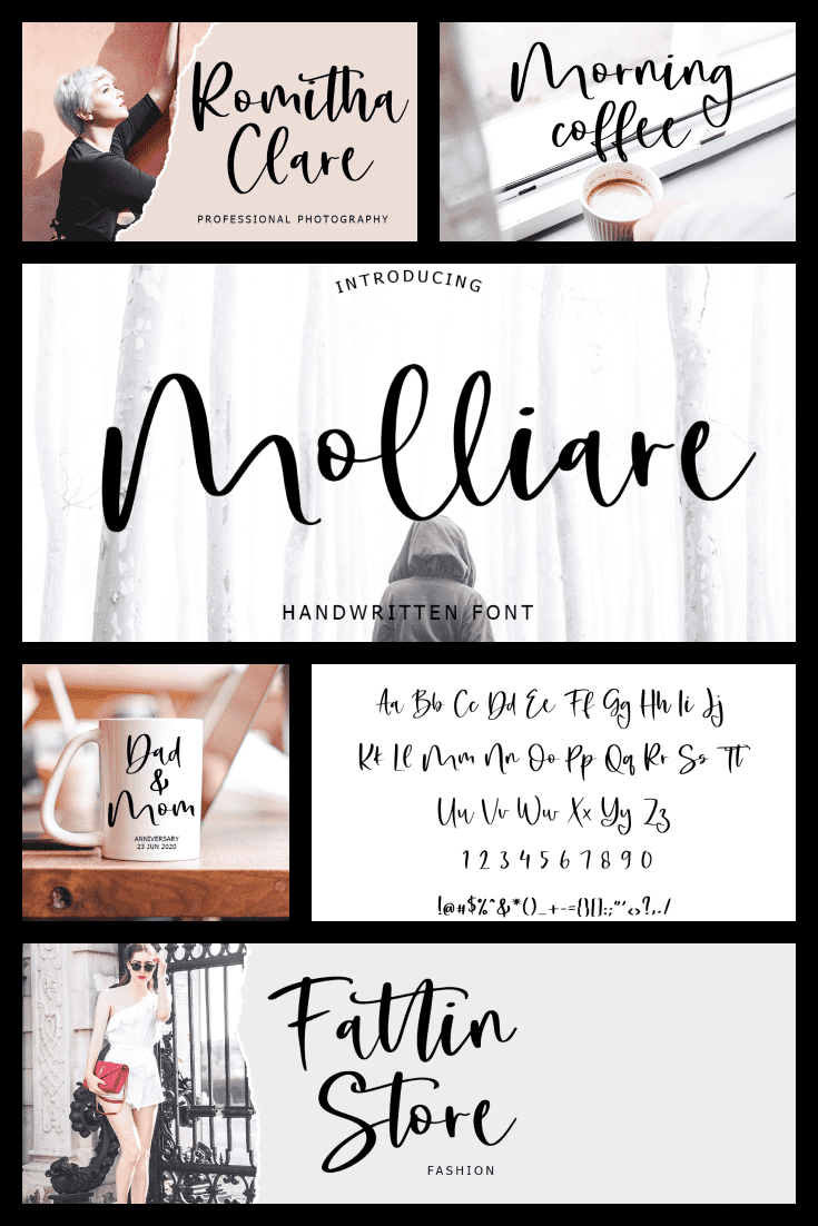A scenic and trendy font with a Parisian accent. I just want to eat a croissant with a label with such a font.