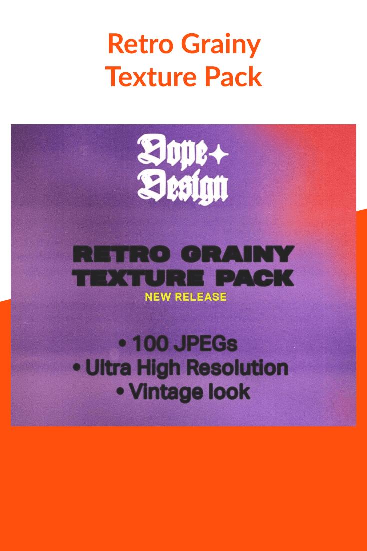 Retro Grainy Texture Pack.