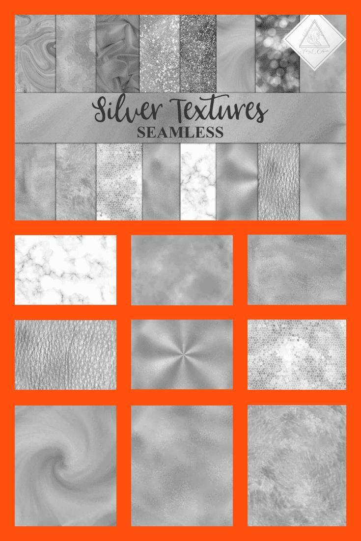 Silver Textures.