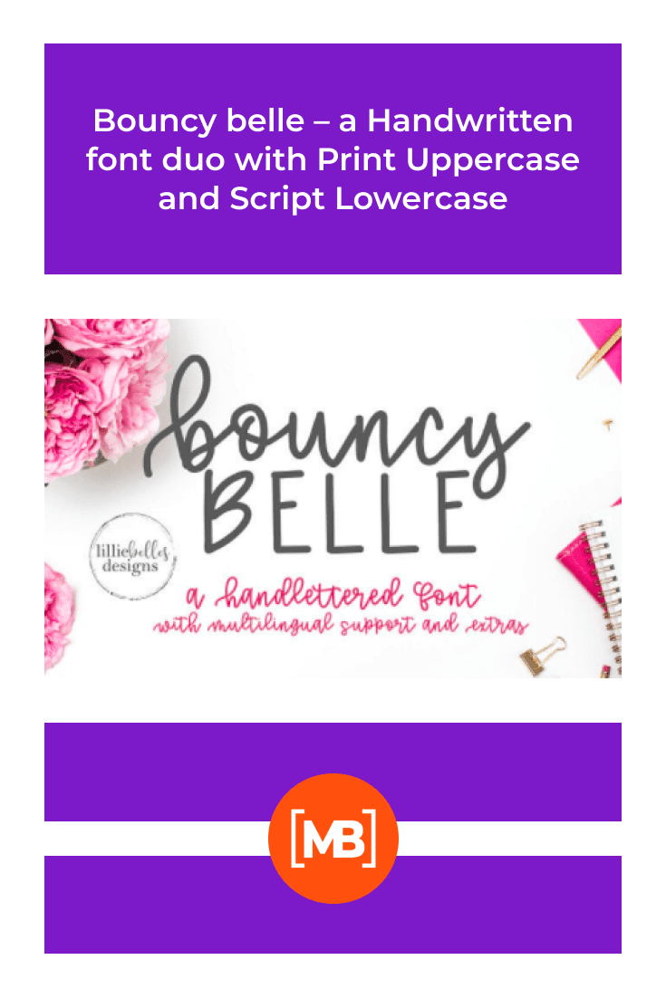 The font is great for a bouquet of peonies. It is atmospheric and sensual.