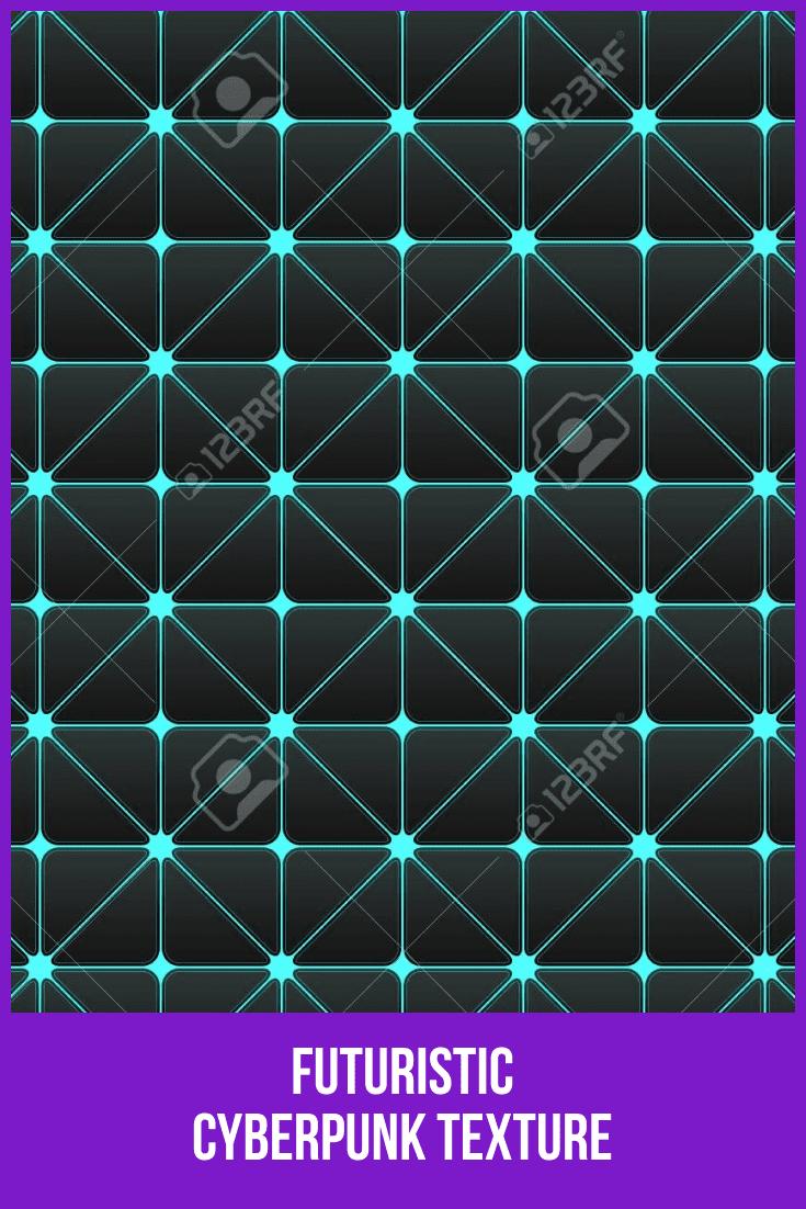 Futuristic Cyberpunk Texture.