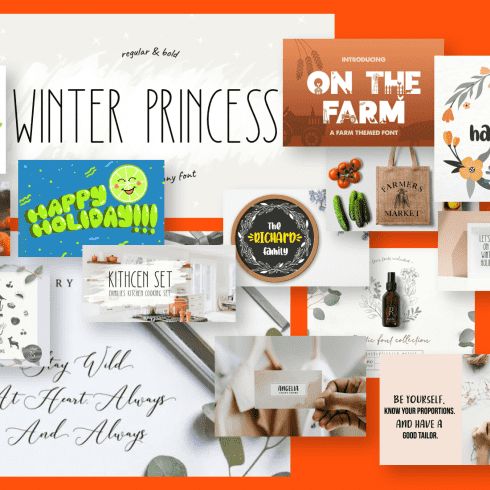 20+ Best Inspiring Free and Premium Farmhouse Fonts  for Your Best Projects in 2021