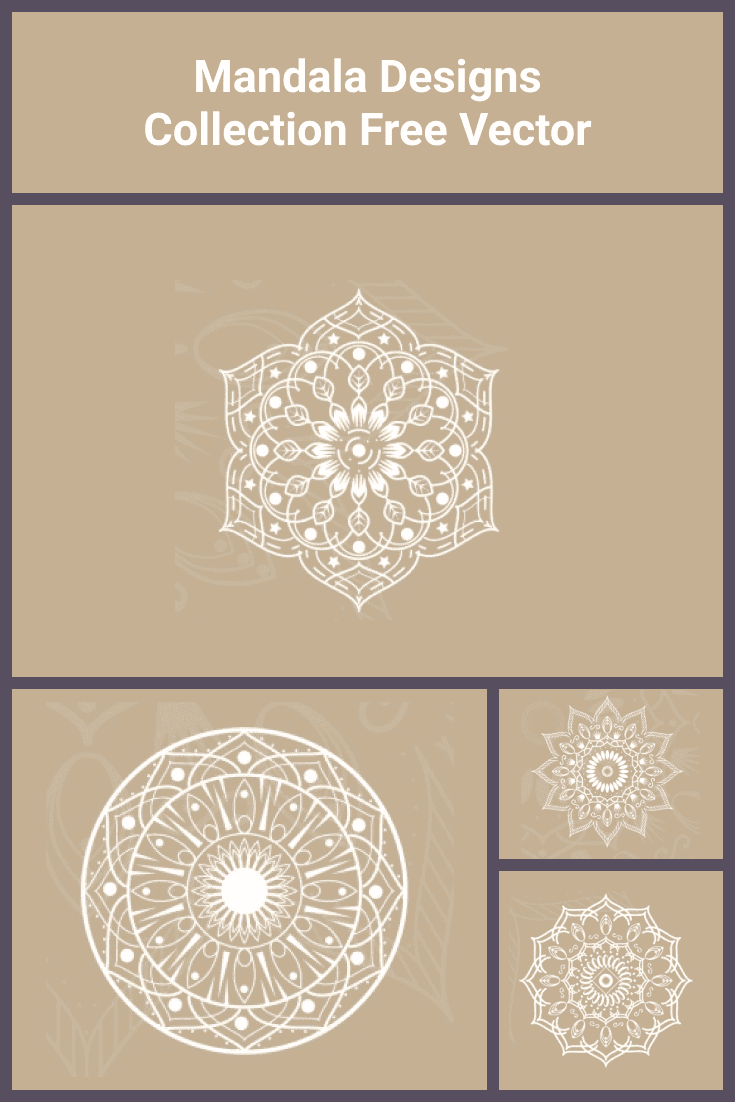 White mandala with fine lines and soft edges.