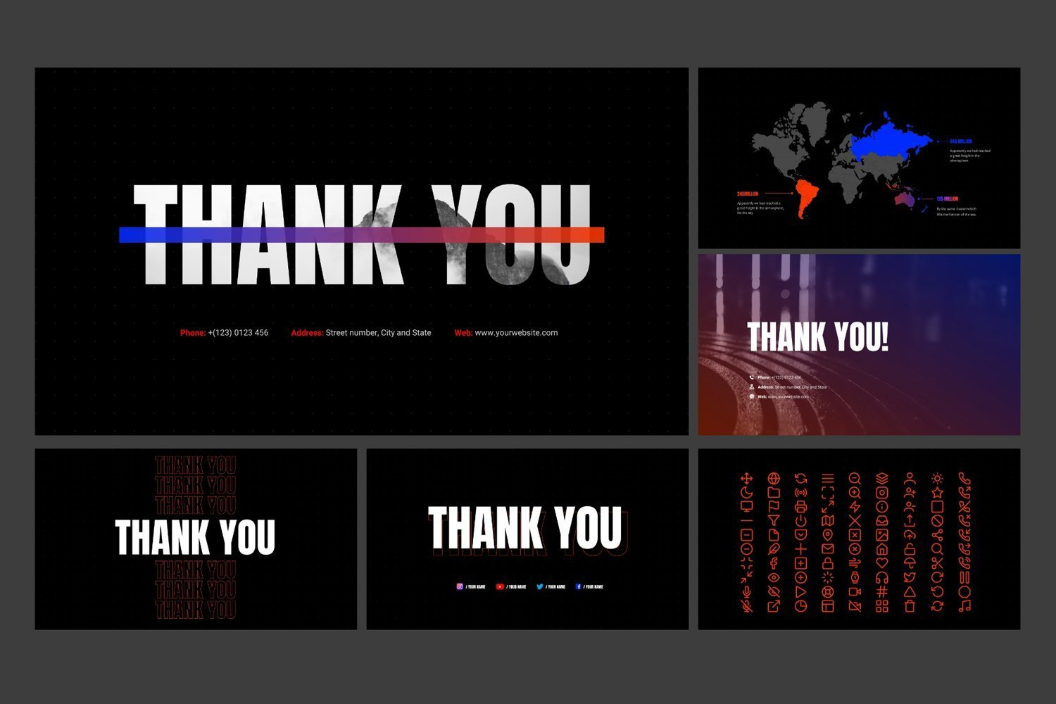 Also, your 'thank you' can sound in the different way with this design.