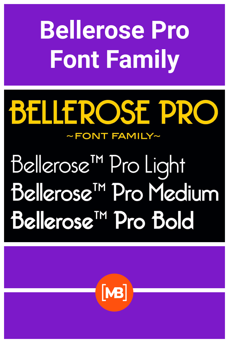 A font that does not accept frames.