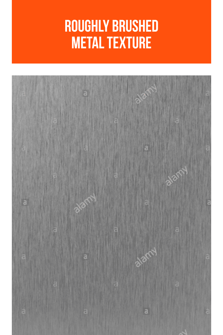 Roughly brushed metal texture.