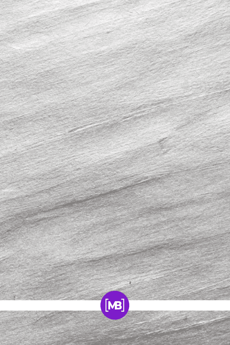 Brushed silver watercolor texture.