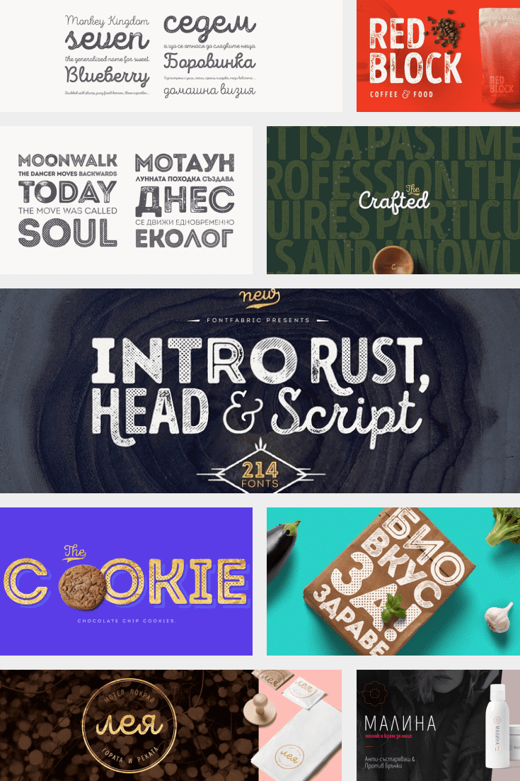 A universal font that can be fit into different themes and add some of your own elements.