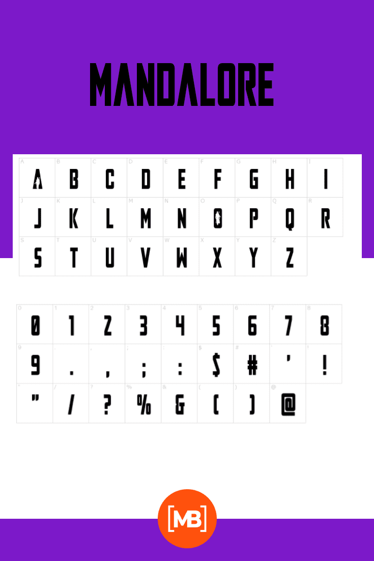A simple font with original inserts inside the letters. Looks like a mafia style.