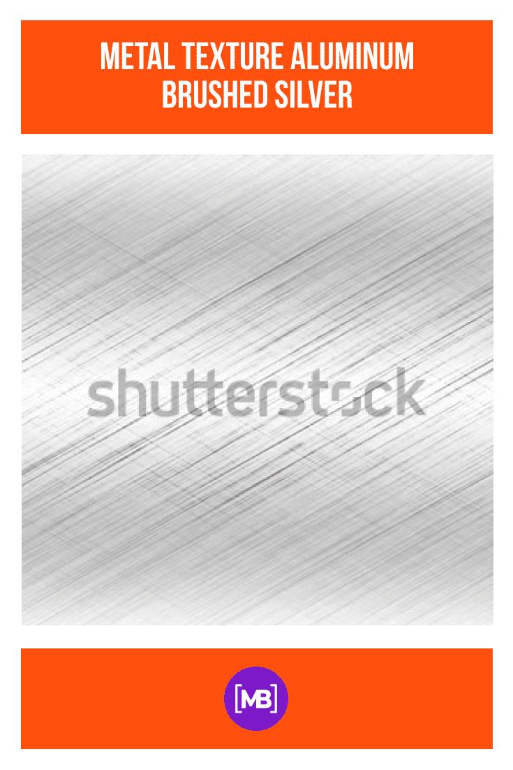Metal texture aluminum brushed silver.