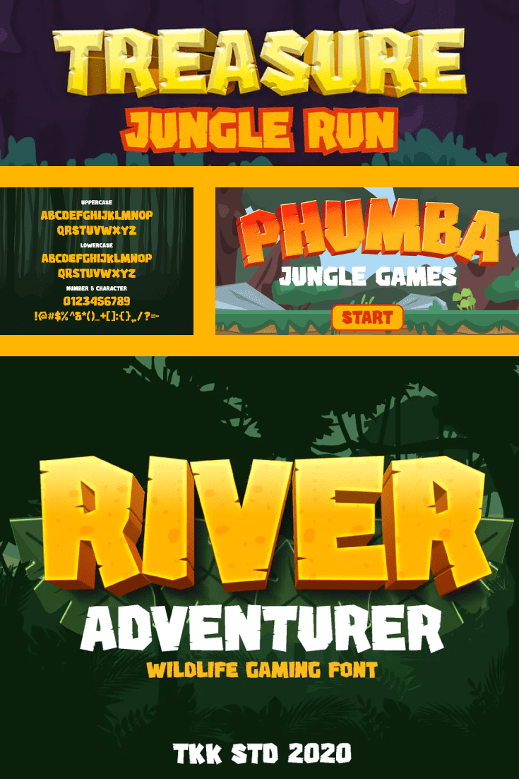 This font is the perfect format for adventure cartoons. He is perky and cheerful.