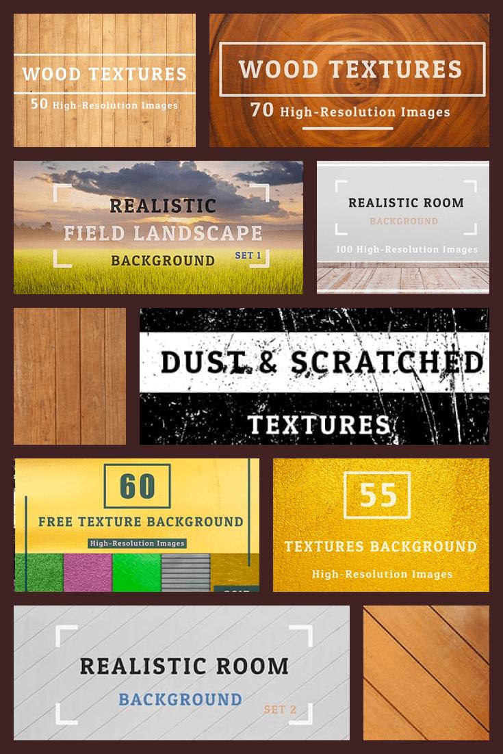 2000+ Textures Background Bundle.