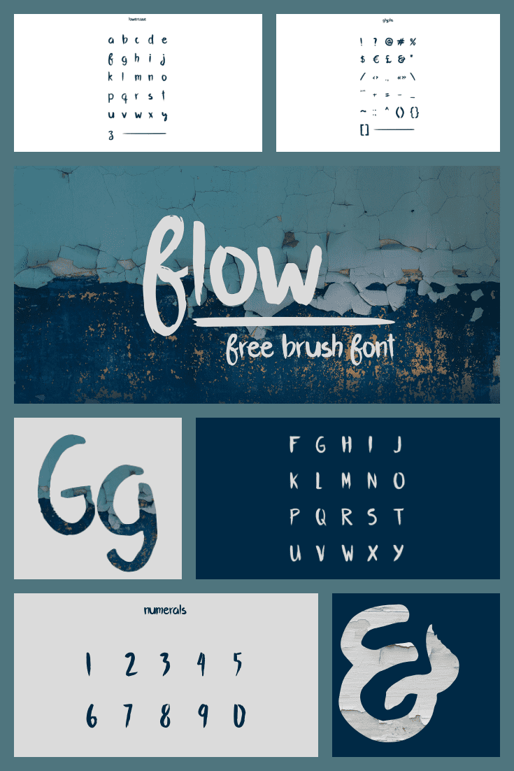 A font with a stream and water atmosphere. It is weightless and lightweight.