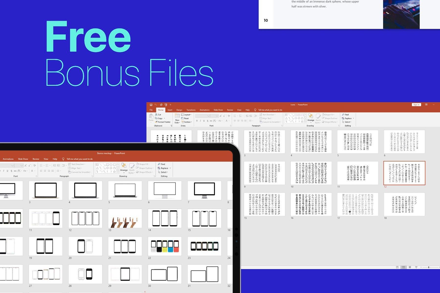 Free bonus files.