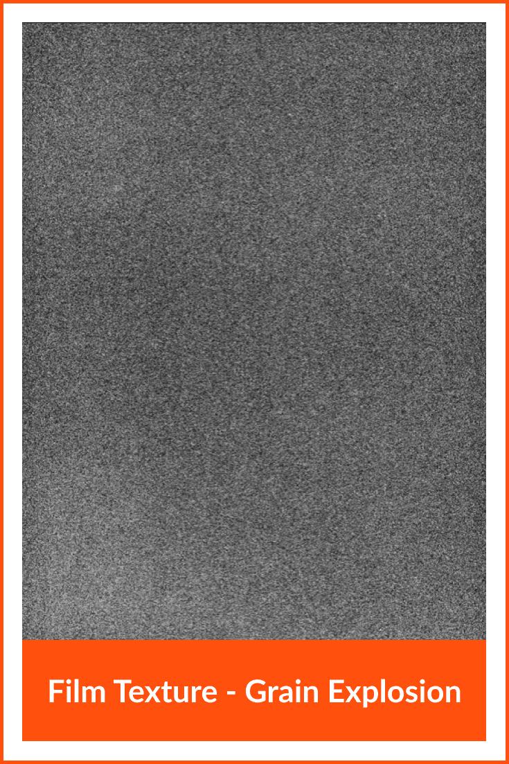 Film Texture - Grain Explosion.