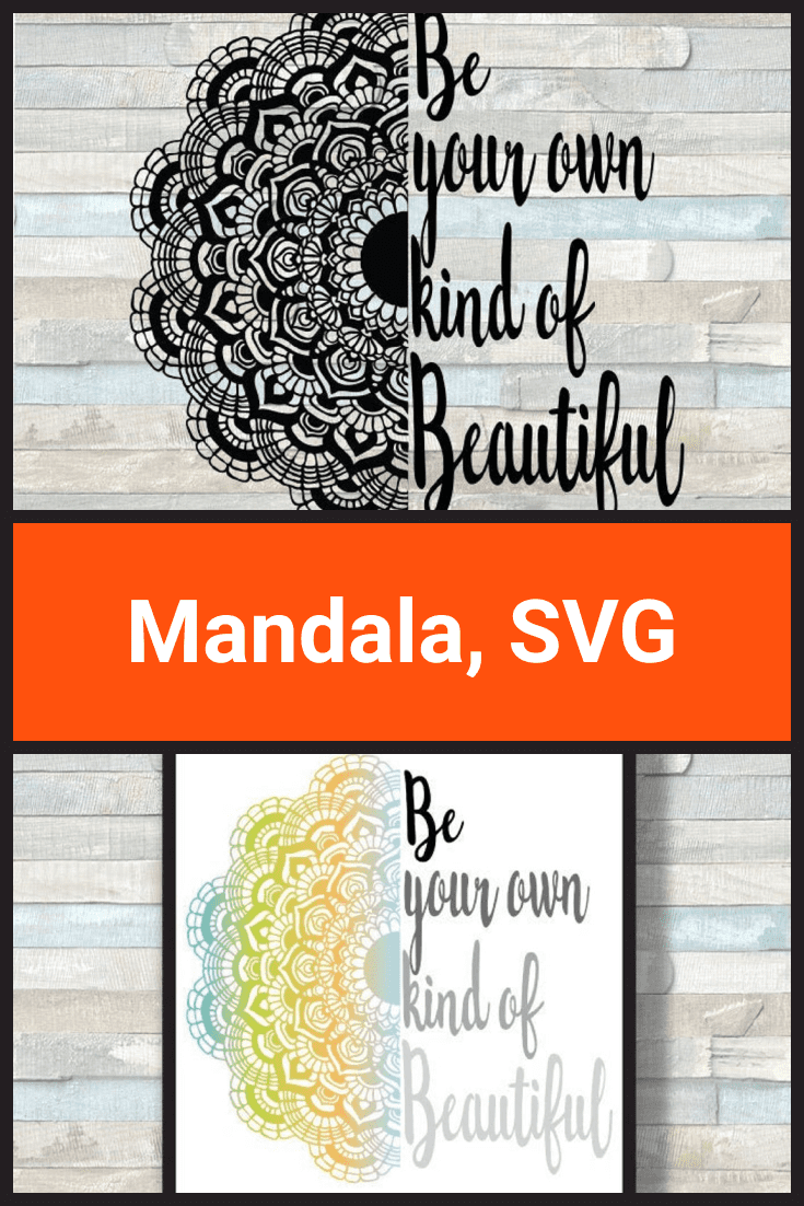 This mandala can be made in two versions - color and black. She is plump and luxurious.