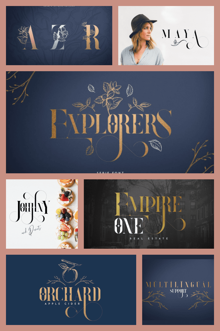 A fabulous font in gold color. They can be told the tale of Cinderella or Beauty and the Beast.