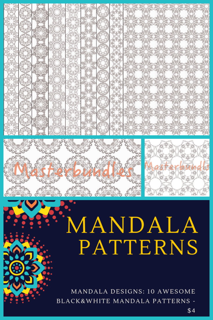 There are many options for the mandala pattern here.