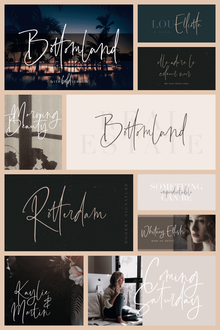 A very thin and graceful font that will highlight all the benefits of your product.