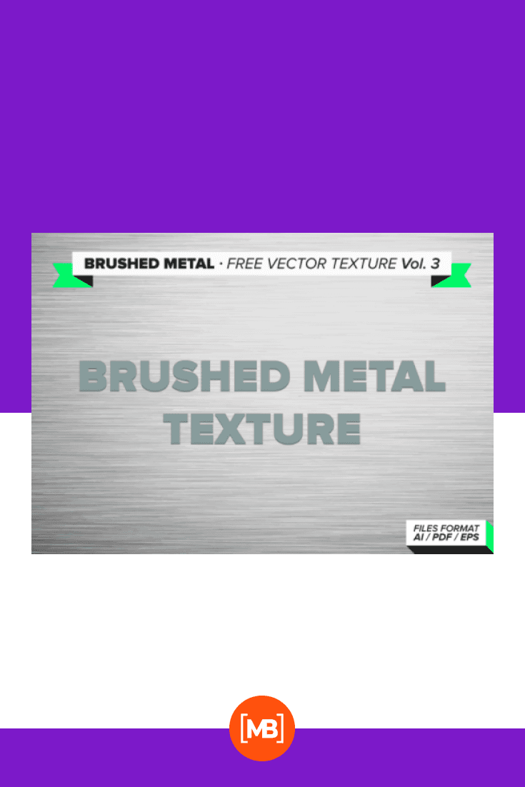 Brushed metal free vector texture.